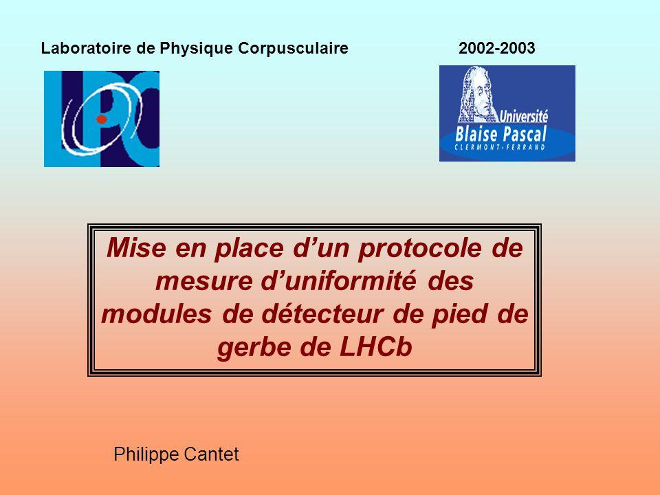Laboratoire de Physique Corpusculaire 2002-2003