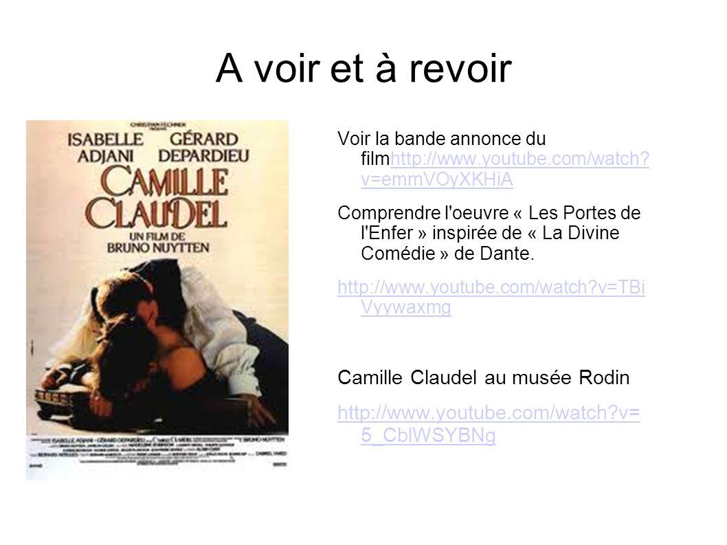 A voir et à revoir Camille Claudel au musée Rodin