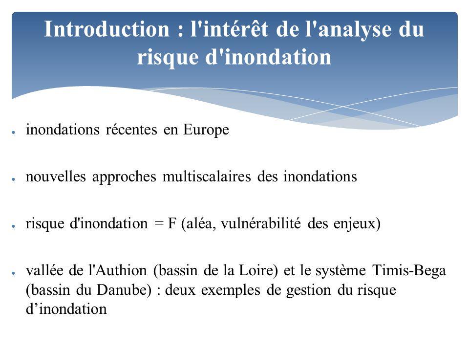 Introduction : l intérêt de l analyse du risque d inondation
