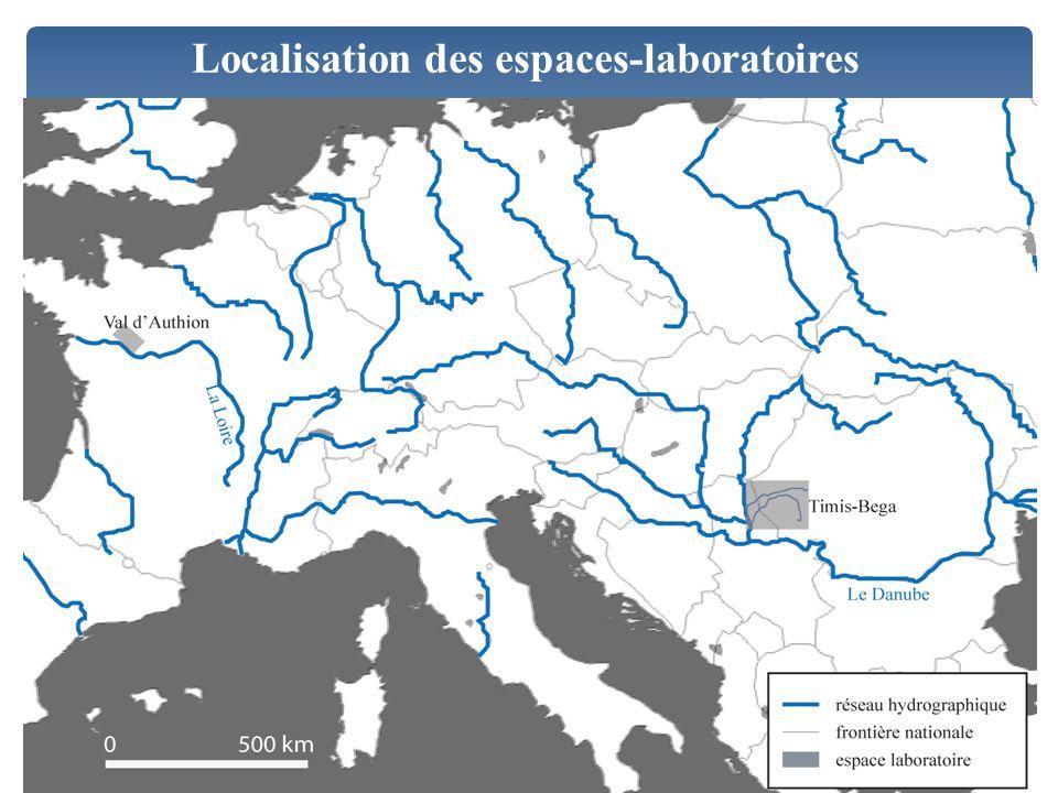 Localisation des espaces-laboratoires