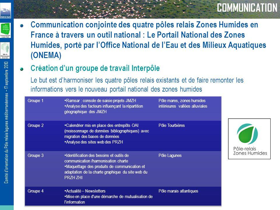 P le relais lagunes m diterran ennes ppt t l charger - Office national de publication et de communication ...