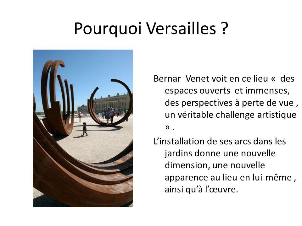 Pourquoi Versailles