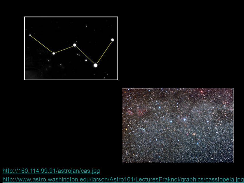 http://160.114.99.91/astrojan/cas.jpg http://www.astro.washington.edu/larson/Astro101/LecturesFraknoi/graphics/cassiopeia.jpg.