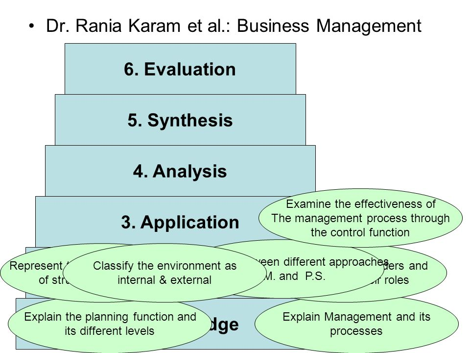 Dr. Rania Karam et al.: Business Management