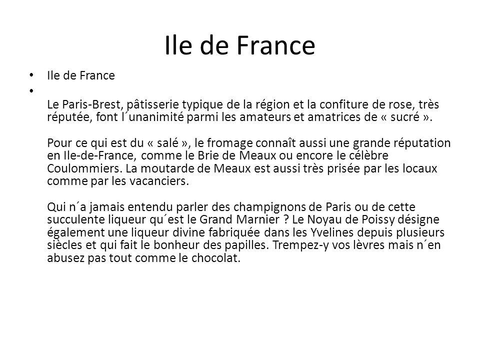 Ile de France Ile de France