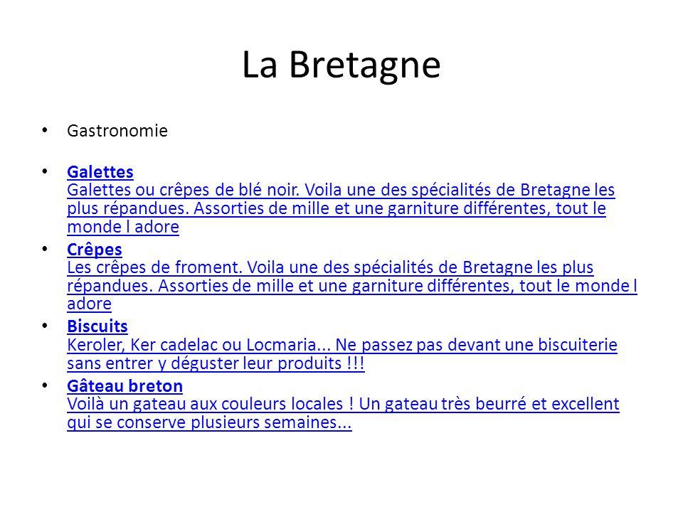 La Bretagne Gastronomie