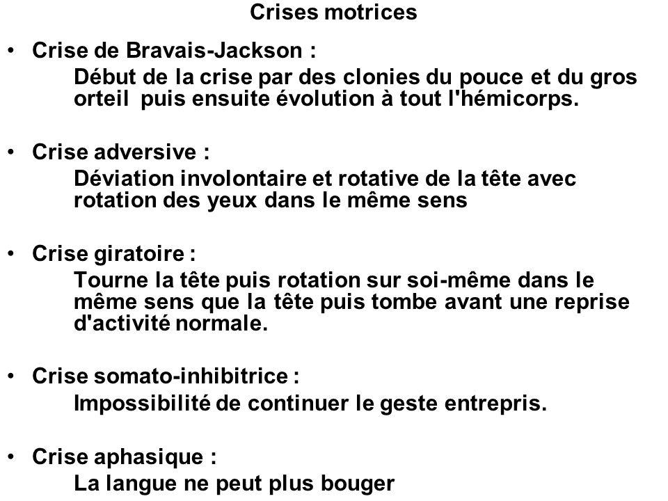 Crise de Bravais-Jackson :