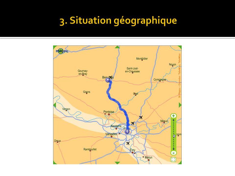 3. Situation géographique