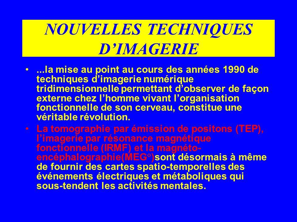 NOUVELLES TECHNIQUES D'IMAGERIE