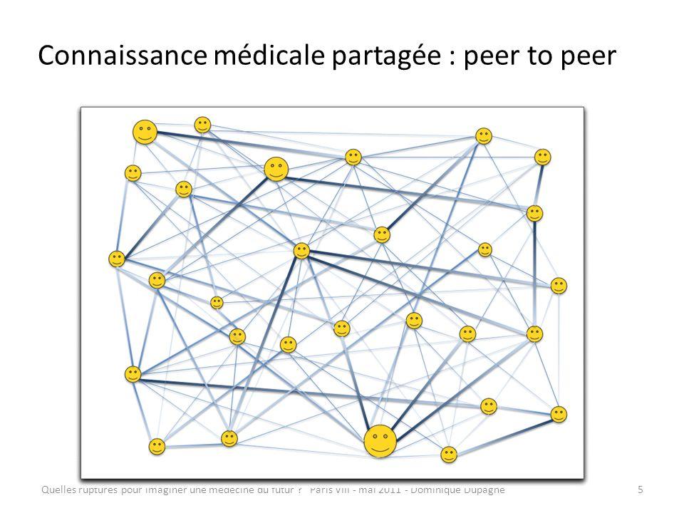 Connaissance médicale partagée : peer to peer