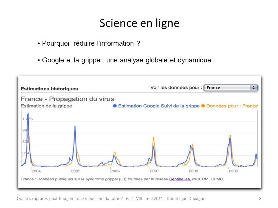 Science en ligne Pourquoi réduire l'information