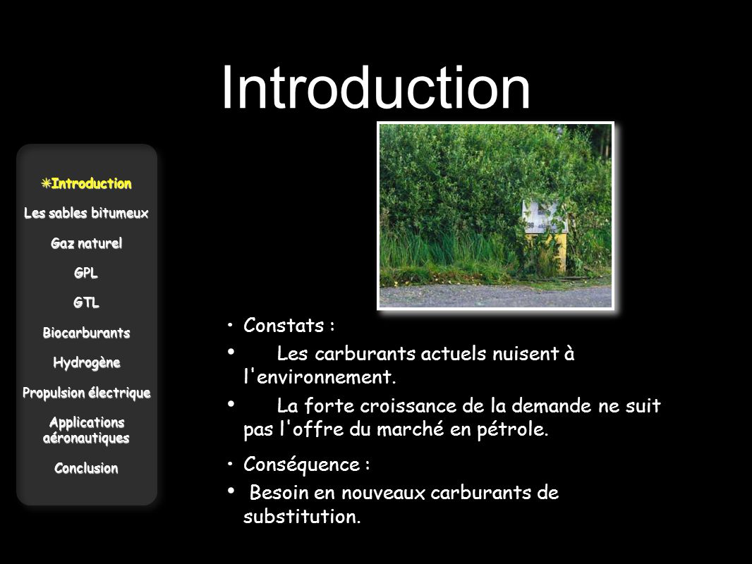Introduction • Constats :