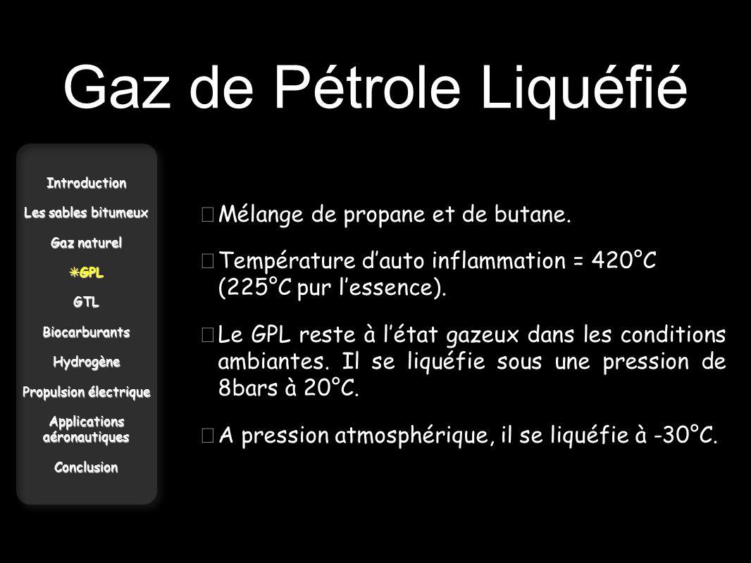 Gaz de Pétrole Liquéfié