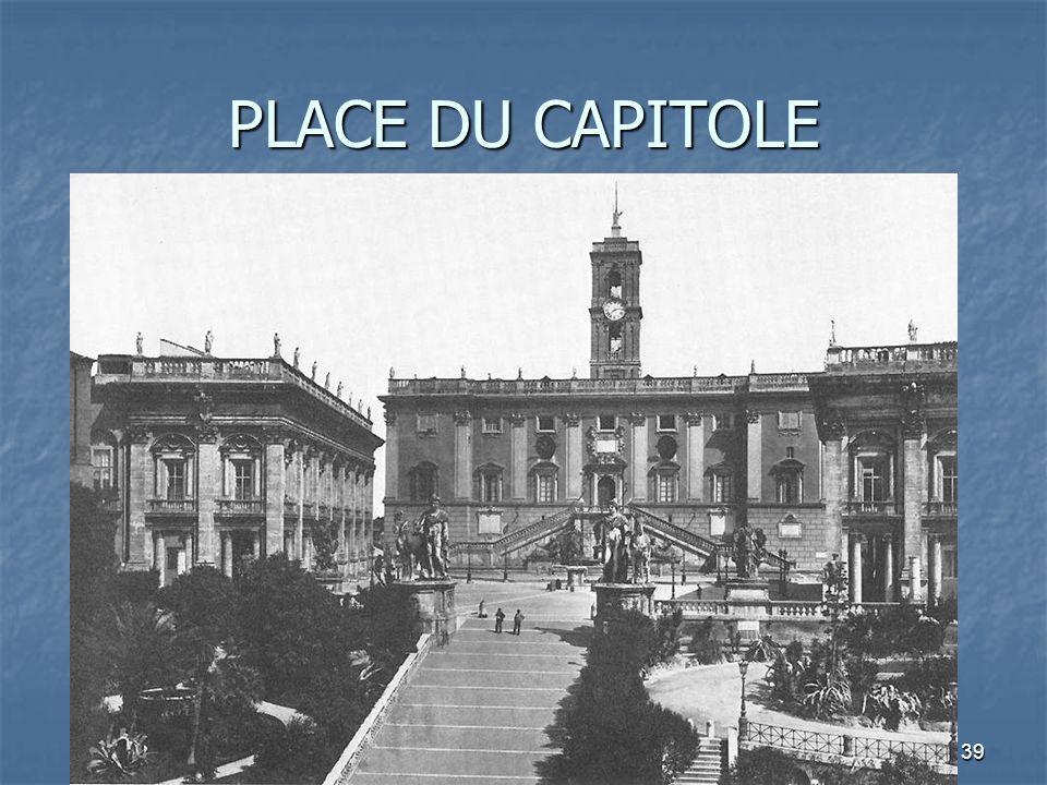 PLACE DU CAPITOLE