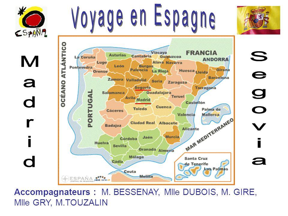 Voyage en Espagne Segovia Madrid