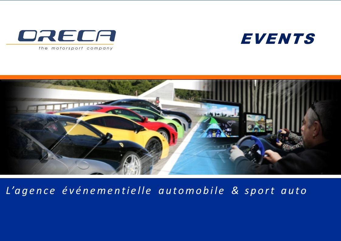 EVENTS L'agence événementielle automobile & sport auto