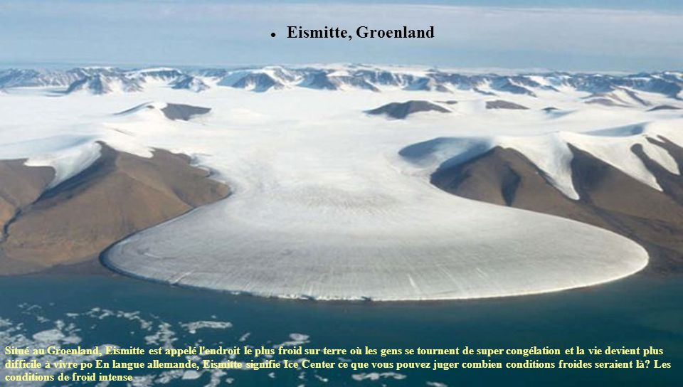 Eismitte, Groenland