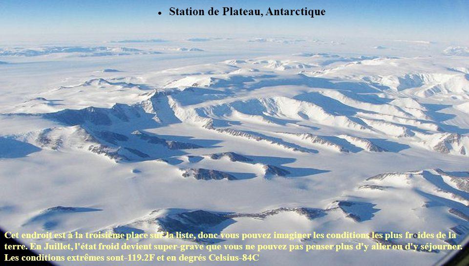 Station de Plateau, Antarctique