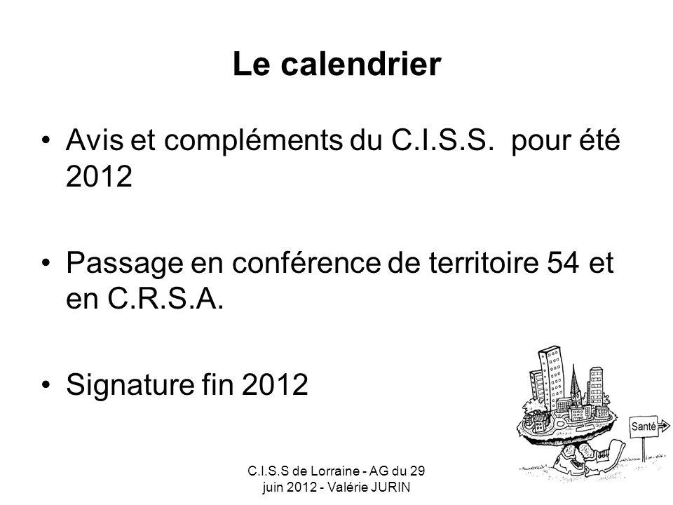 C.I.S.S de Lorraine - AG du 29 juin 2012 - Valérie JURIN