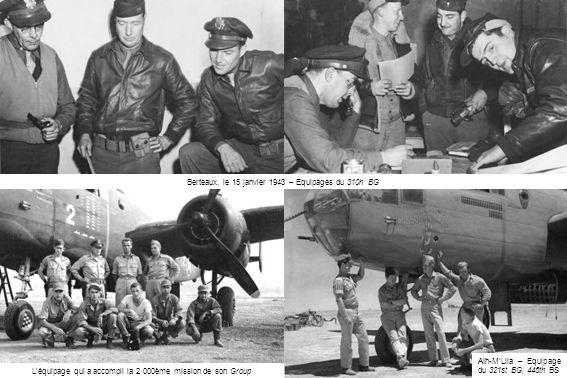 Berteaux, le 15 janvier 1943 – Equipages du 310h BG