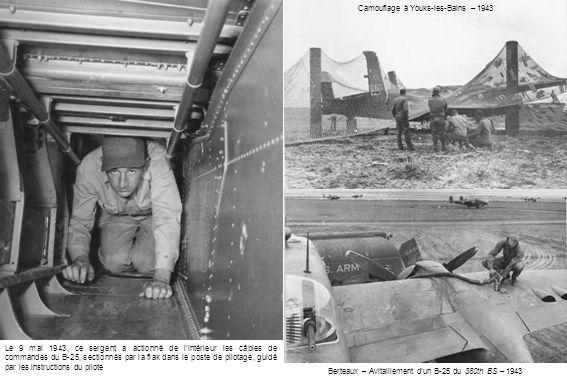 Camouflage à Youks-les-Bains – 1943