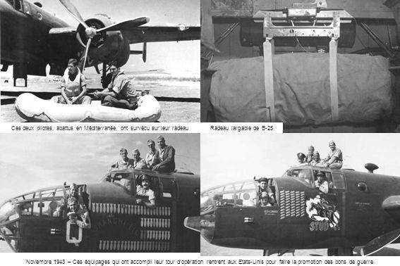 Ces deux pilotes, abattus en Méditerranée, ont survécu sur leur radeau
