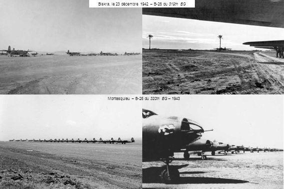 Biskra, le 23 décembre 1942 – B-26 du 319th BG