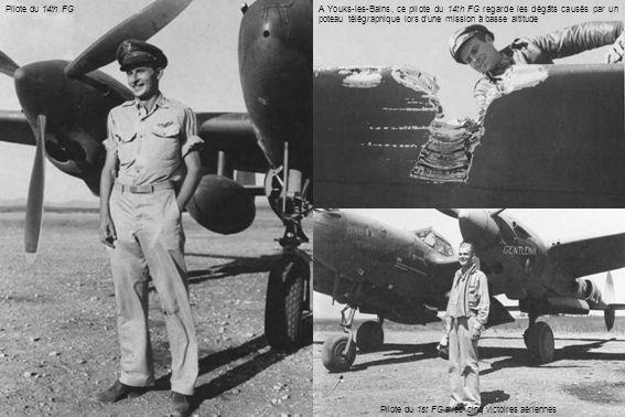 Pilote du 1st FG avec cinq victoires aériennes