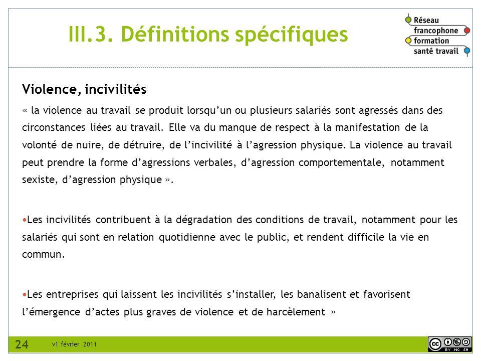 III.3. Définitions spécifiques