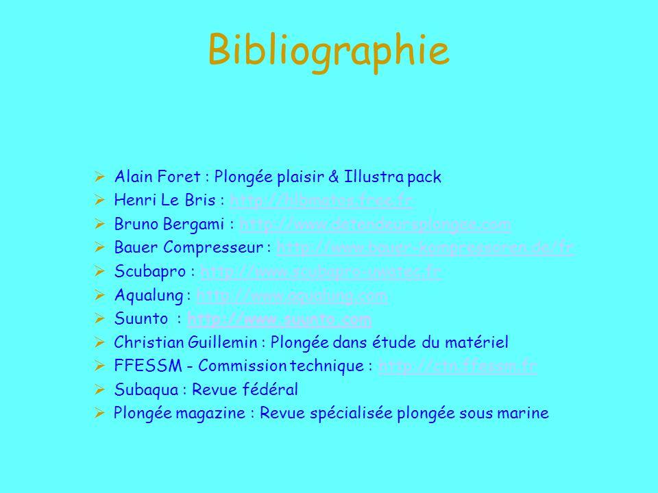 Bibliographie Alain Foret : Plongée plaisir & Illustra pack