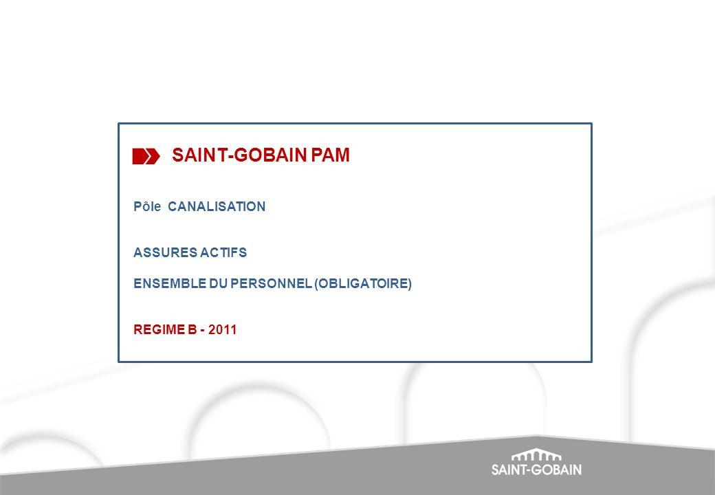 SAINT-GOBAIN PAM Pôle CANALISATION ASSURES ACTIFS