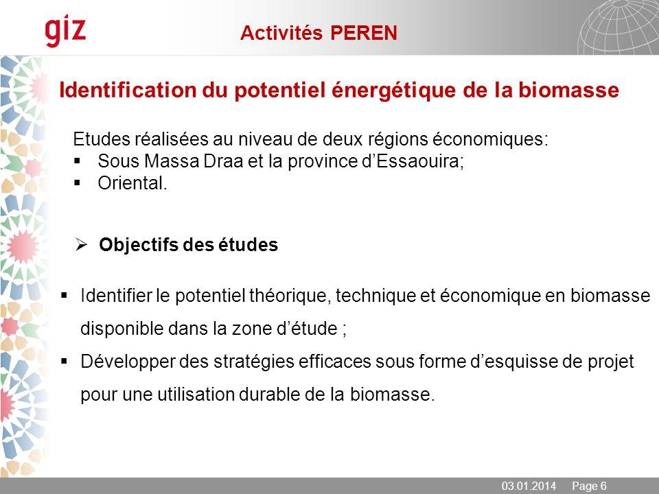 Identification du potentiel énergétique de la biomasse