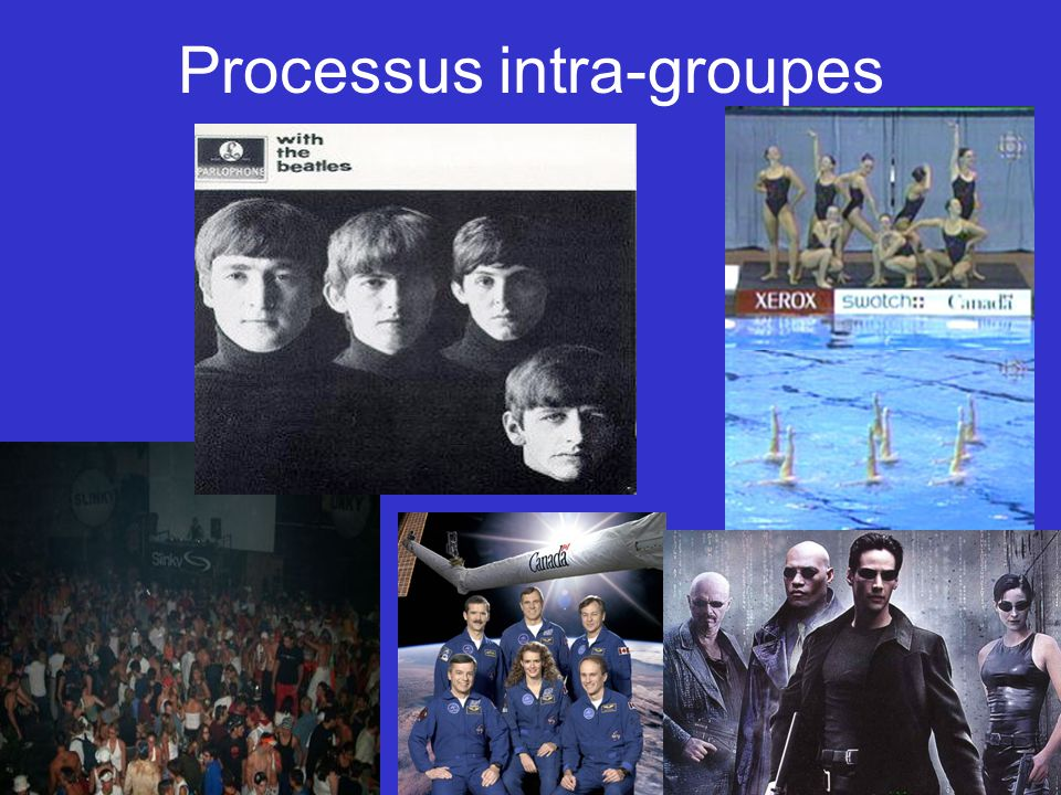 Processus intra-groupes
