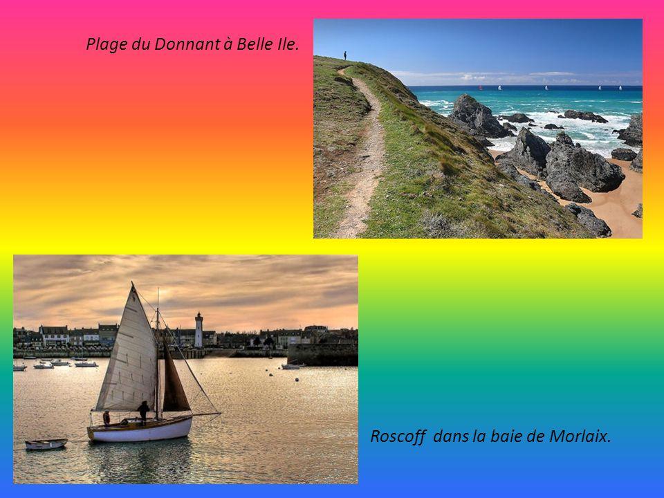 Plage du Donnant à Belle Ile.