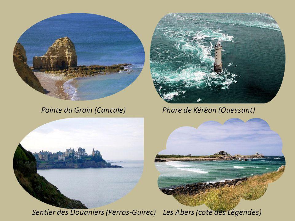 Pointe du Groin (Cancale) Phare de Kéréon (Ouessant)