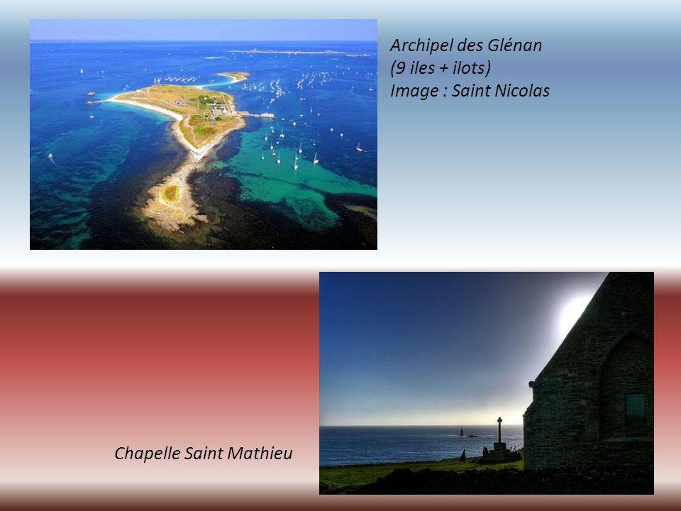 Archipel des Glénan (9 iles + ilots) Image : Saint Nicolas Chapelle Saint Mathieu