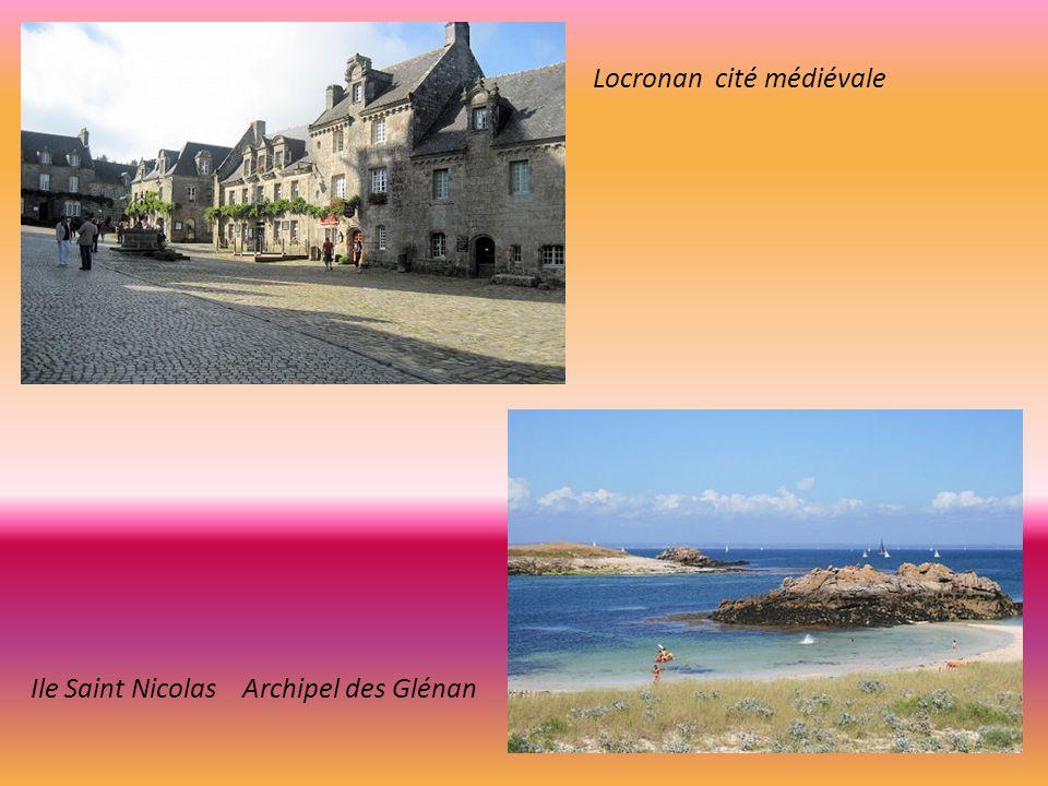 Locronan cité médiévale