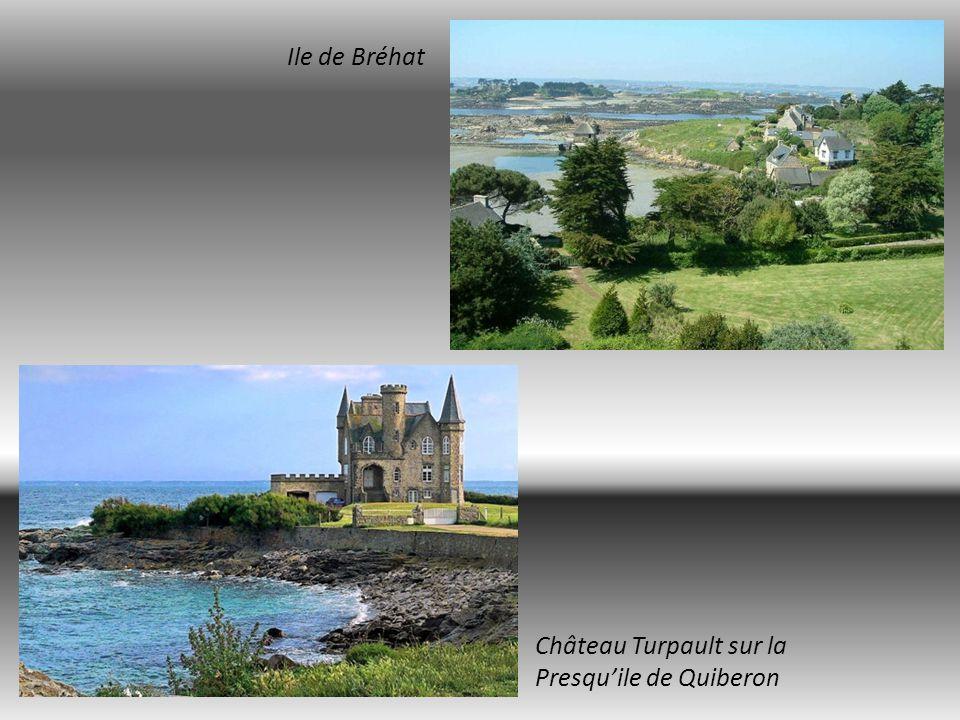 Ile de Bréhat Château Turpault sur la Presqu'ile de Quiberon