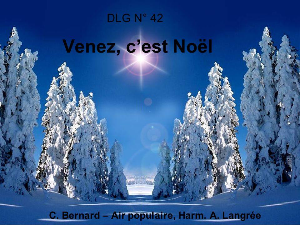 C. Bernard – Air populaire, Harm. A. Langrée