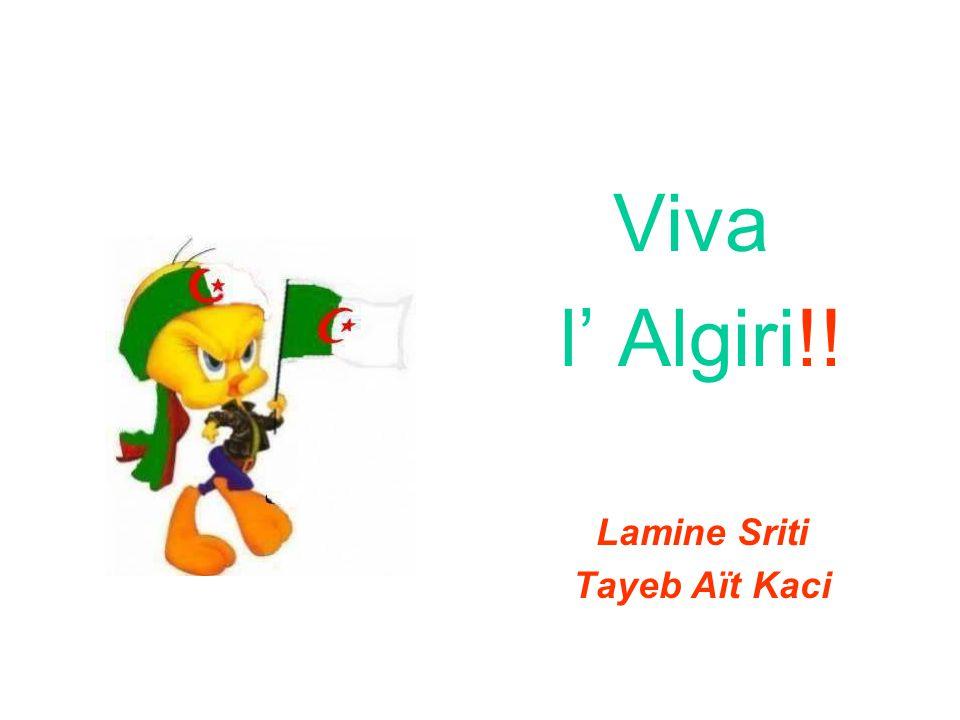 Viva l' Algiri!! Lamine Sriti Tayeb Aït Kaci