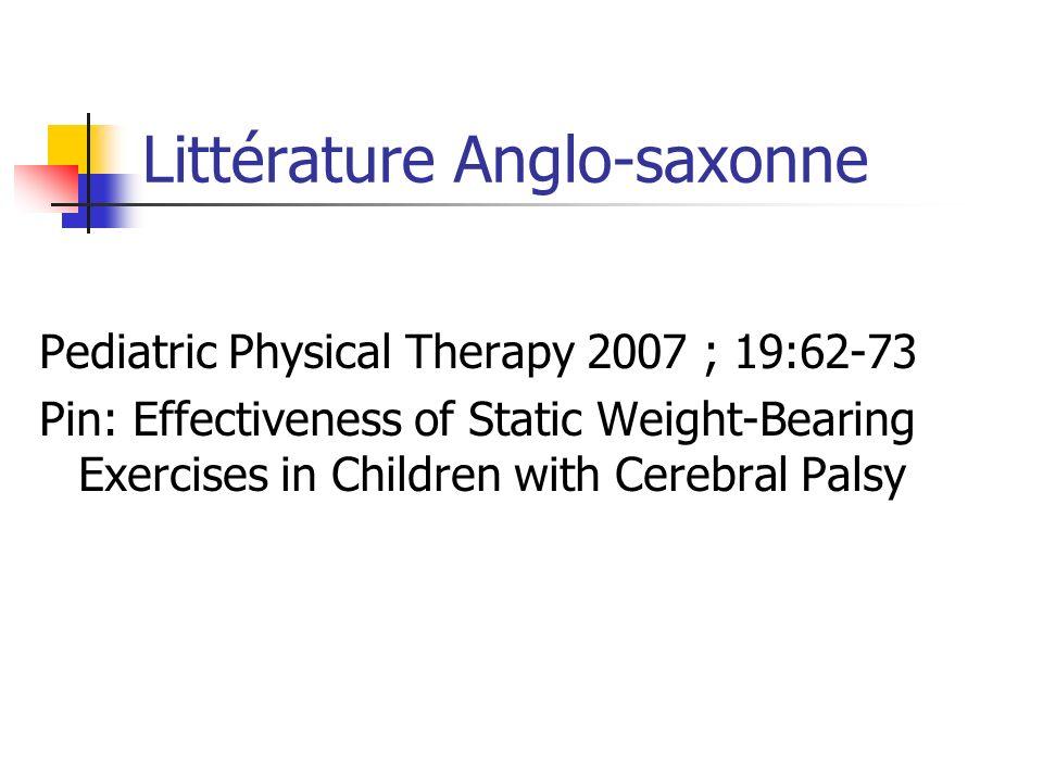 Littérature Anglo-saxonne
