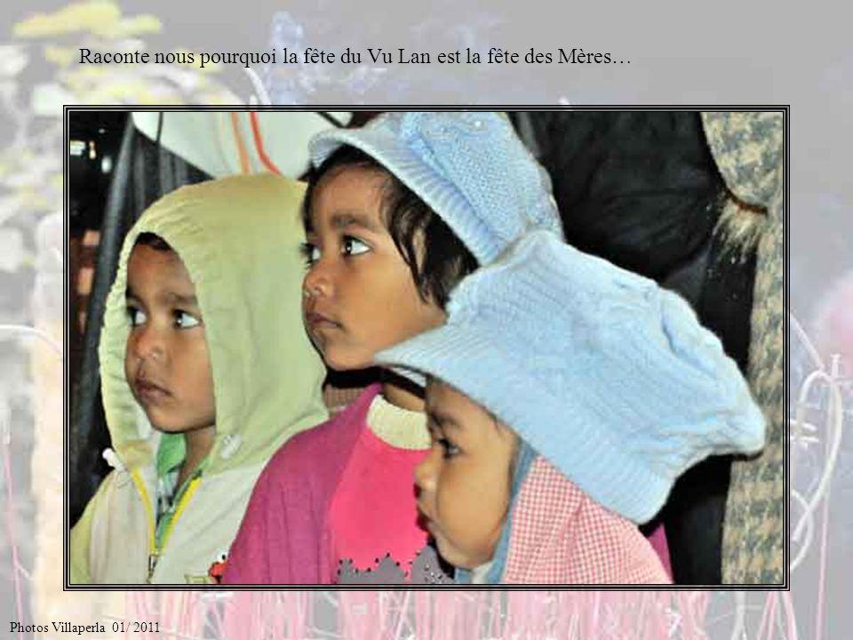 Raconte nous pourquoi la fête du Vu Lan est la fête des Mères…