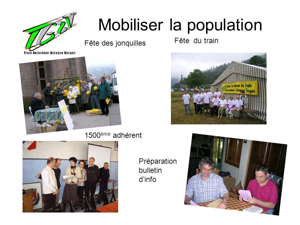 Mobiliser la population