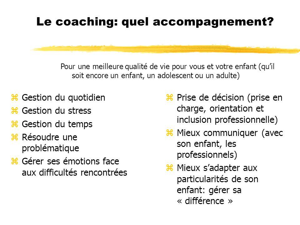 Le coaching: quel accompagnement