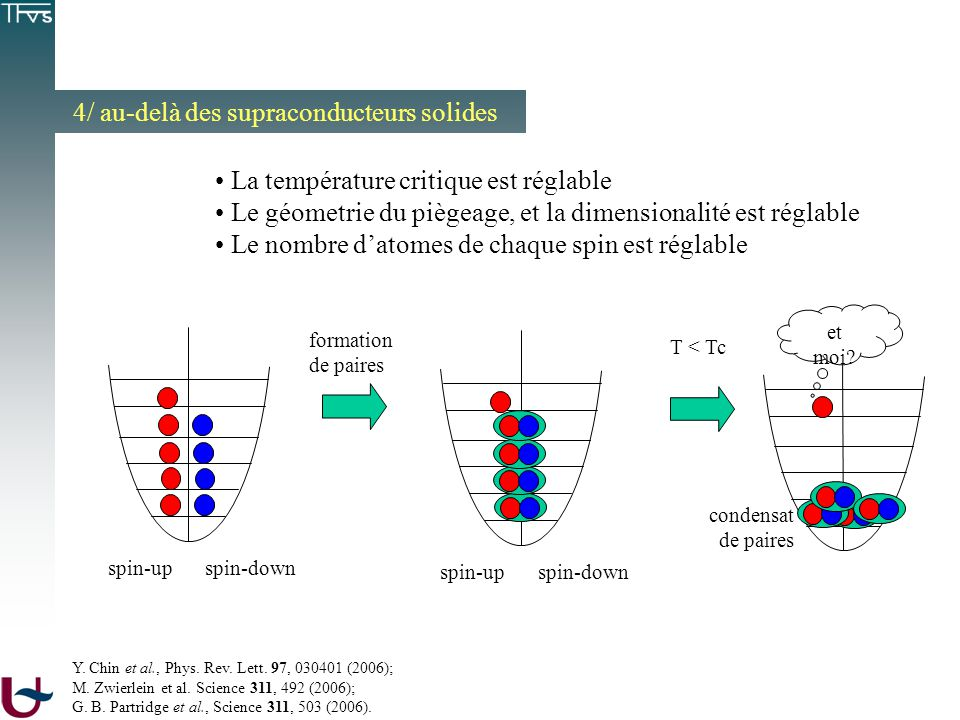 4/ au-delà des supraconducteurs solides