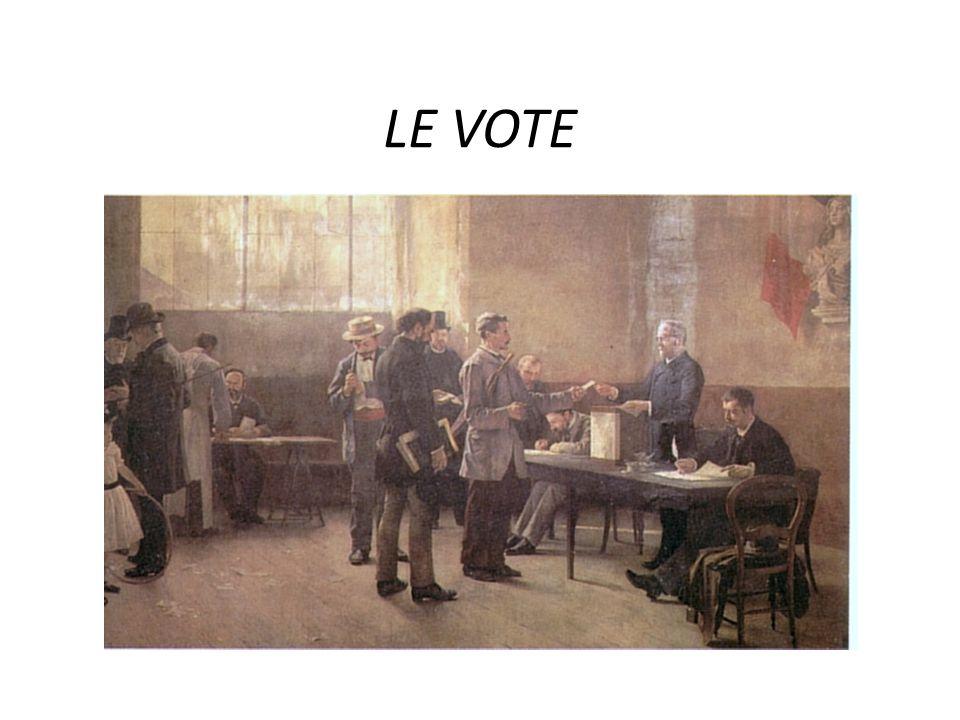 LE VOTE