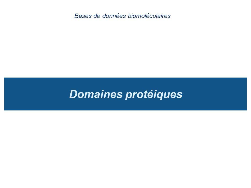 Bases de données biomoléculaires
