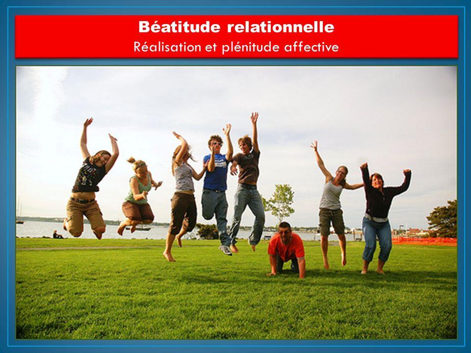 Béatitude relationnelle Réalisation et plénitude affective