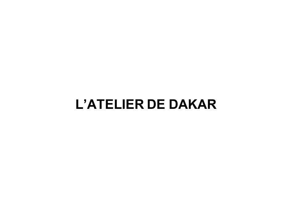 L'ATELIER DE DAKAR