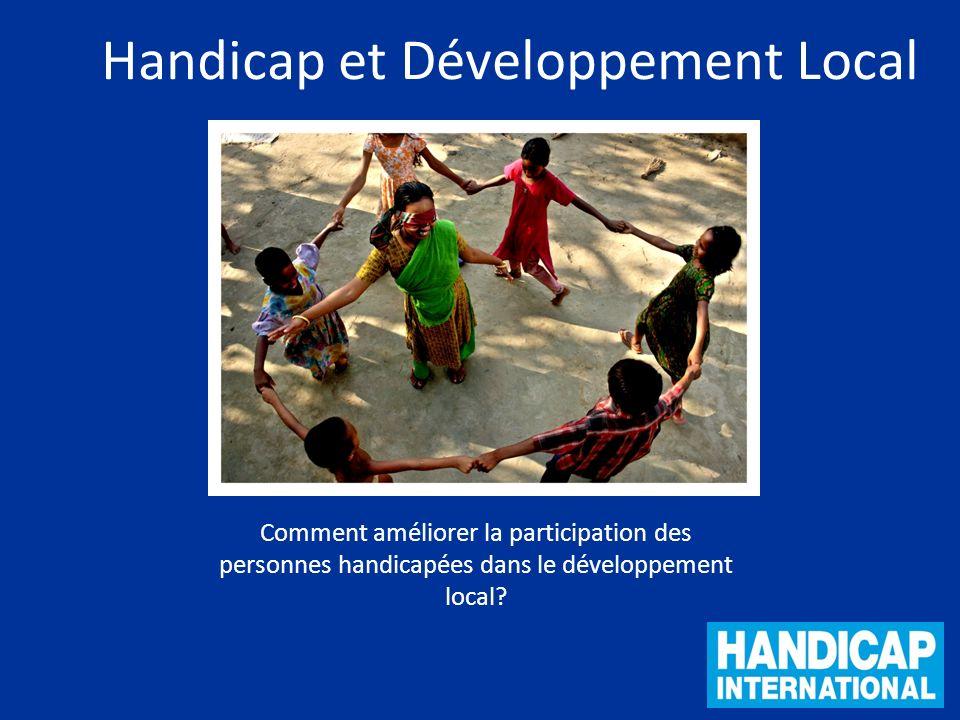 Handicap et Développement Local